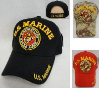 Licensed US Marines Hat [Seal] *Assorted Colors
